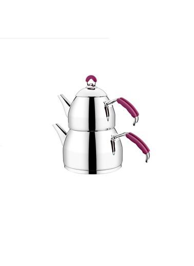 Halley Mini Çaydanlık Mor-Aksu